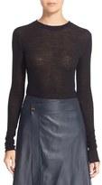 Helmut Lang Side Tie Wool Sweater