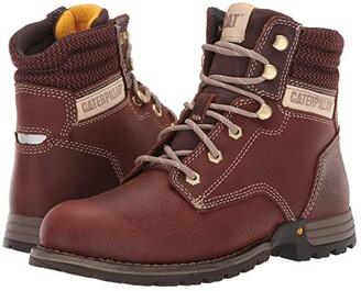 Caterpillar Paisley 6 Soft Toe (Tawny Full Grain Leather) Women's Work Boots