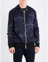 Balmain Camo-print shell jacket