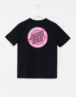 Santa Cruz MFG Dot t-shirt in black