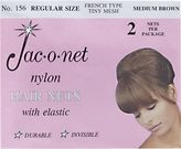 Jac-O-Net Medium Brown Regular Size Hairnet