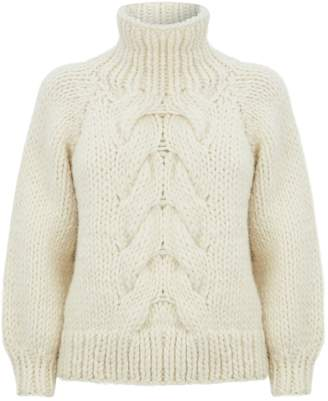 I Love Mr Mittens Cable-Knit Wool Sweater