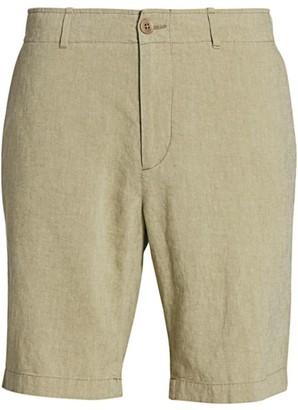 Saks Fifth Avenue COLLECTION Linen-Blend Shorts