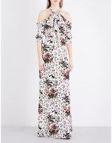 Erdem Annaliese silk-crepe de chine gown