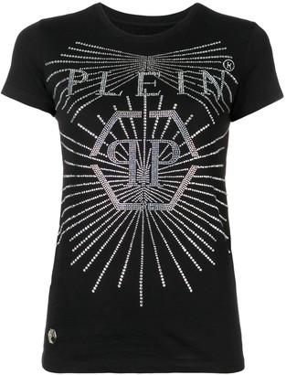 Philipp Plein Crystal round neck T-shirt