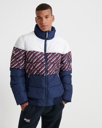 Superdry Track Sports Puffer Jacket
