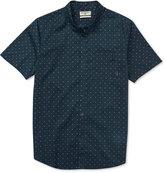 Billabong Men's Crusas Cross-Print Cotton Shirt