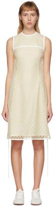 Loewe Yellow Lace Mini Dress