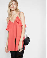 Express cold shoulder tunic cami