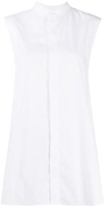 AMI Paris Buttoned Sleeveless Shirt