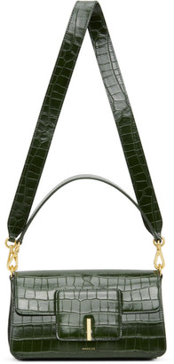 Wandler Green Croc Georgia Bag