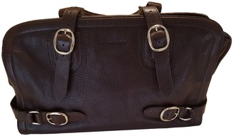 Burberry Brown Leather Handbags