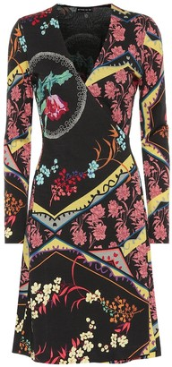 Etro Printed wool midi dress