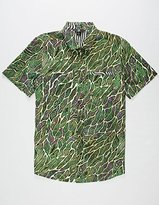 Volcom Men's Tetsunori Short Sleeve Shirt