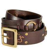 Joe's Jeans Brass Ring Belt