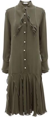 J.W.Anderson Layered Midi Dress