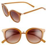BP Women's Metal Rim Round Sunglasses - Mustard
