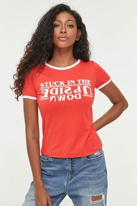Ardene Stranger Things Ringer T-shirt