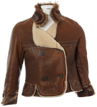 Jitrois Brown Leather Coats