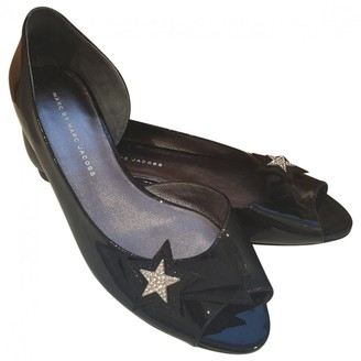 Marc by Marc Jacobs Black Patent leather Ballet flats