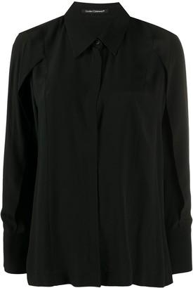 Luisa Cerano Point Collar Long Sleeved Shirt