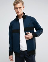 Converse Blue Micro Dot Track Jacket In Black 10003392-A02