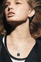 Nordstrom Women's Bony Levy 25mm Diamond Hoop Earrings - White Gold Exclusive)