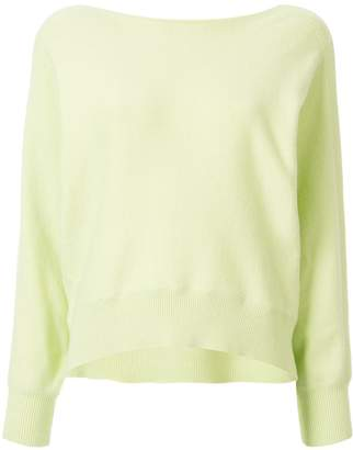 TOMORROWLAND relaxed-fit boat-neck jumper
