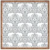 DENY Designs Jacqueline Maldonado Elephant Damask Paloma Square Tray