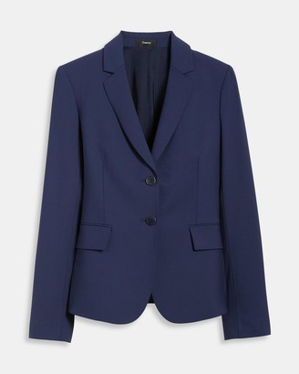 Theory Carissa Blazer in Good Wool