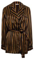 Gold Hawk Stripe Pajama Shirt