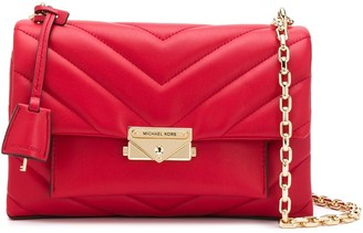 MICHAEL Michael Kors Cece quilted-effect shoulder bag