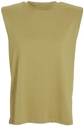 LES COYOTES DE PARIS Devon Padded Shoulder T-Shirt