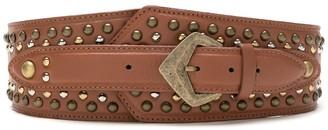Nk Leather Embellishment Belt