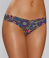Commando Printed Thong
