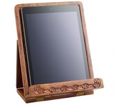 World Market Hand-Carved Wood Tablet Stand