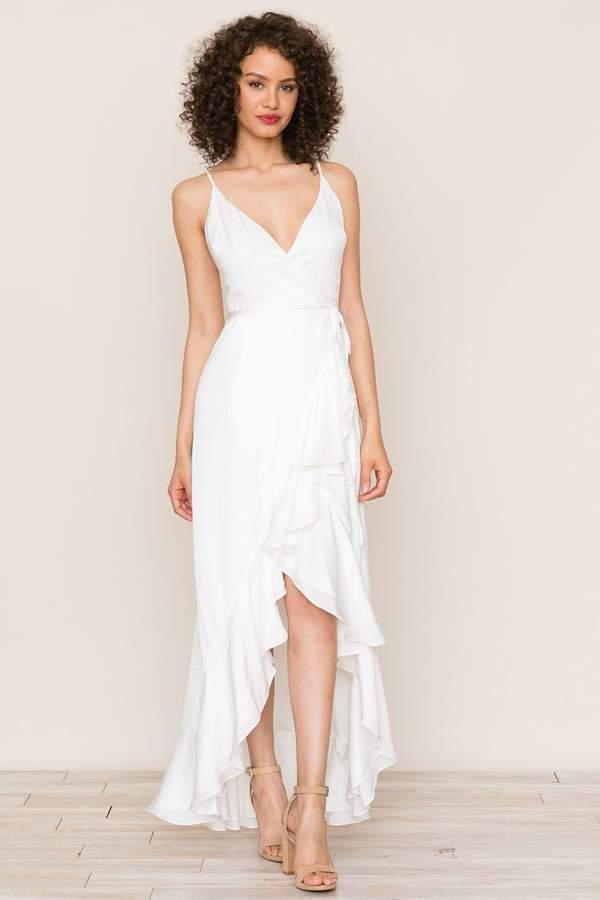 Yumi Kim Cross Roads Maxi Dress