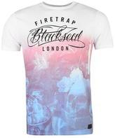 Firetrap Blackseal Renaissance T Shirt