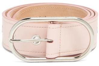 Acne Studios Masculine Large Logo-buckle Leather Belt - Light Pink