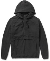 Beams Ripstop-Panelled Cotton-Jersey Hooded Anorak