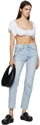 Rag & Bone Blue Maya High-Rise Jeans