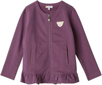 Steiff Girl's Sweatjacke Sweat Jacket