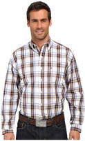 Stetson Blue Springs Button Front One-Pocket Long Sleeve Shirt