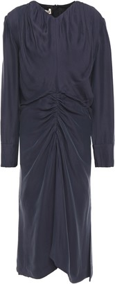 Marni Ruched Crepe Dress