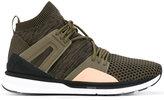 Puma elasticated slip-on sneakers - men - Cotton/rubber/Nylon - 6.5