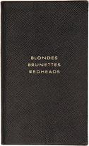 Smythson Blondes Brunettes Redheads Notebook