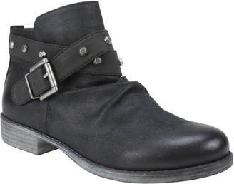 White Mountain Moto Inspired Ankle Boots - Savant