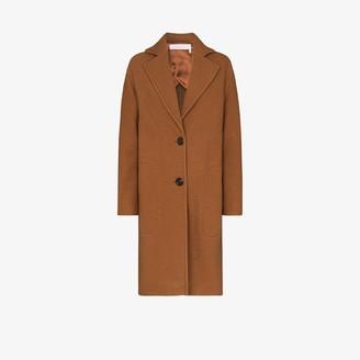 See by Chloe Single-Breasted Virgin Wool Coat