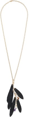 DSQUARED2 Feather Pendant Necklace