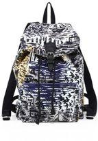 Burberry Coastal Printed Leather Backpack
